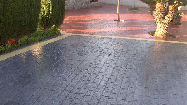 Hormigon Impreso Decorativo Hormigon Impreso Zaragoza - Hormigon-decorativo
